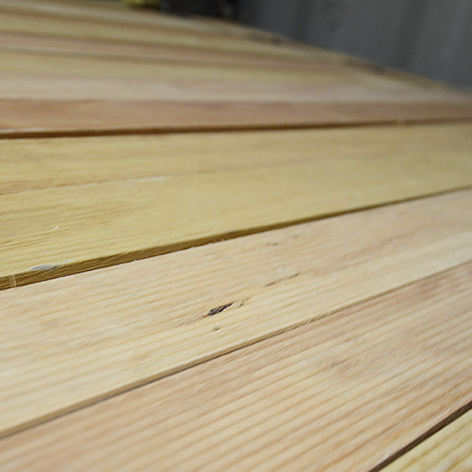 Untreated Pine Decking Northern Poles And Thatching