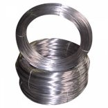 Galvanized wire coil