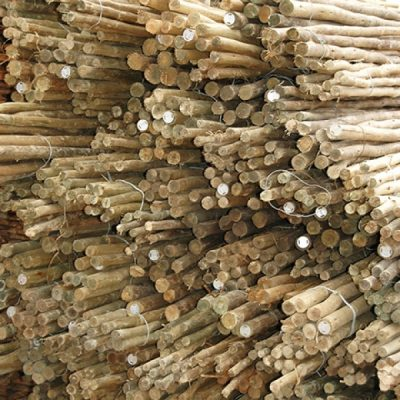Treated Laths Northern Poles And Thatching